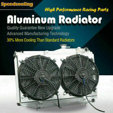 50mm Aluminum Radiator Fan Shroud For Toyota Corolla Ae86 L4 16 84 87 Manual