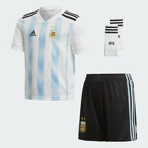 e554abdf126 adidas Argentina WC World Cup 2018 Toddler Home Soccer Kit Brand New ...