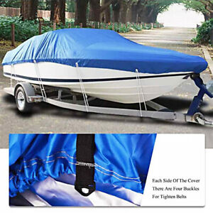 Extra-Heavy-Duty-Boat-Speedboat-Cover-14-16ft-Waterproof-Fish-Ski-V-Hull-Boat