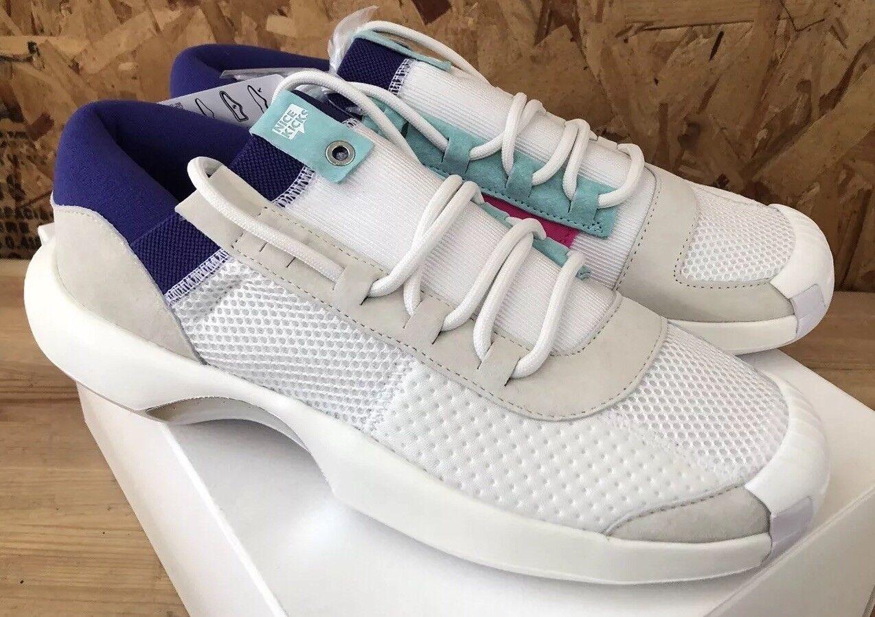 Adidas Crazy 1 ADV Nicekicks Off White Aqua Pink Sz 9 NIB DB1786