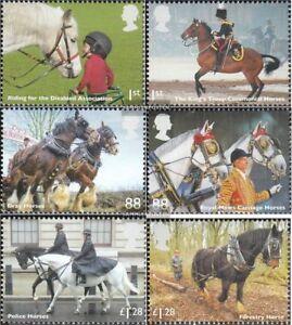 Grossbritannien-3564-3569-kompl-Ausg-postfrisch-2014-Arbeitspferde