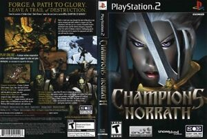 Details about Champions of Norrath: Realms of EverQuest Sony PlayStation 2  PS2 COMPLETE BLACK