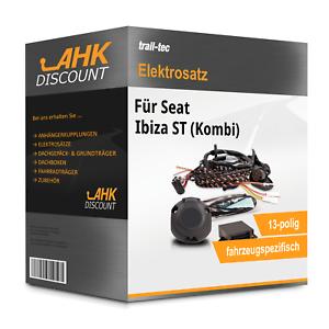 Für Seat Ibiza ST 09 Kombi TRAIL-TEC Elektrosatz 13polig fahrzeugspezifisch