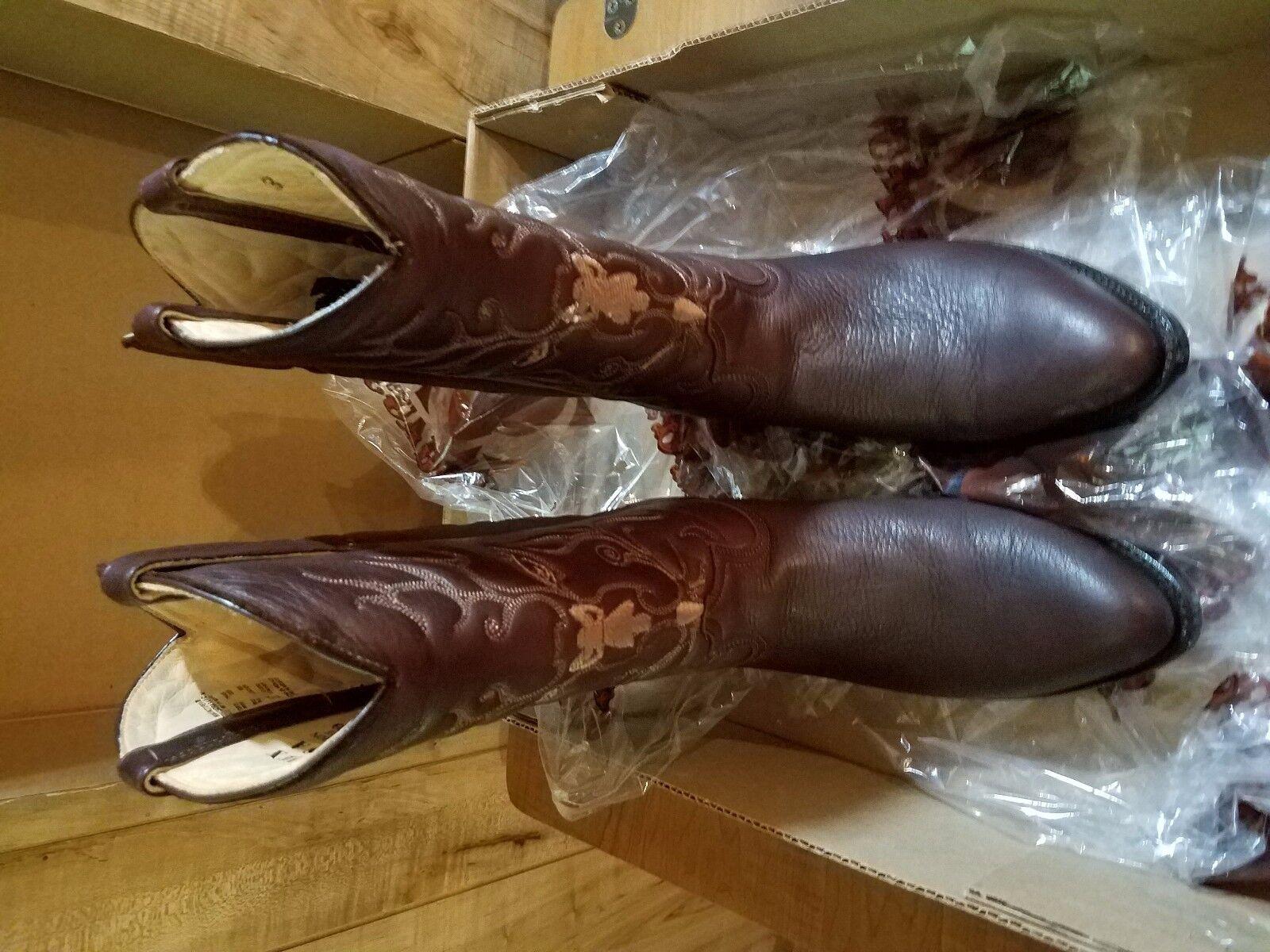 Cuadra Boots - Women's Cowboy Western Boots - Genuine Deer - EUC