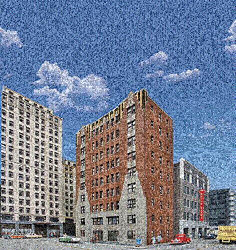 Spur H0 -- -- -- Bausatz Apartementhaus Hintergrundgebäude -- 3770 NEU    Günstigstes  6a5f73