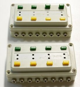 2x-N-H0-Z-escala-maqueta-trenes-modelismo-Marklin-7273-pupitre-control-box