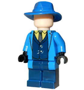 **NEW** Custom Printed - THE QUESTION - DC Universe Building Block Minifigure