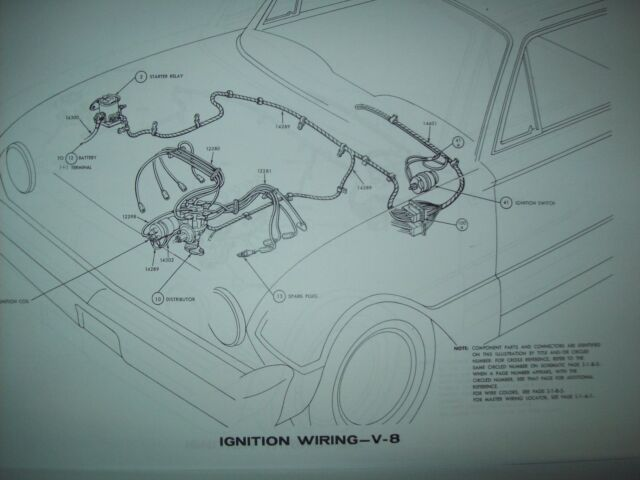 1966 Ford Thunderbird Tbird Wiring Diagram All Models And