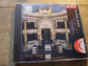 Shmuel Barzilai - Schir Zion [CD Album] ORF 1996 Wiener Kantoren GOLDSTEIN - Baden-Baden, Deutschland - Shmuel Barzilai - Schir Zion [CD Album] ORF 1996 Wiener Kantoren GOLDSTEIN - Baden-Baden, Deutschland