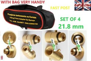 GPL-LPG-Autogas-FillER-Point-Adapters-Set-FOR-ALL-Europe-KIT-OF-4-TRAVEL-SET-M22