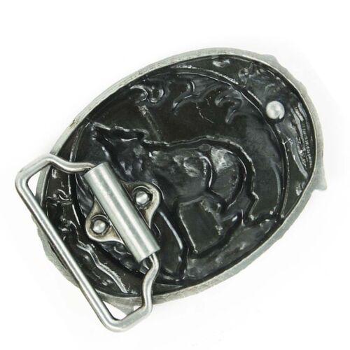 Western Cowboy Howling Wolf Metal Fashion Belt Buckle Mechanical Belt Buckle