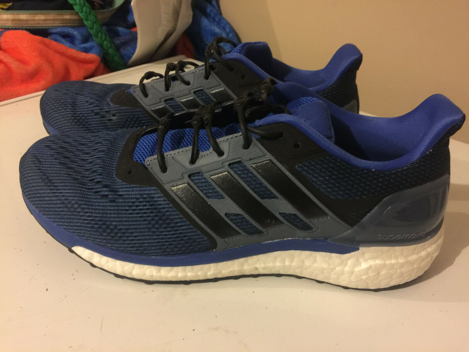 58f7adf1718 Adidas Men's Ultraboost Running shoes Size Navy (11) 11 noskti1640-Athletic  Shoes