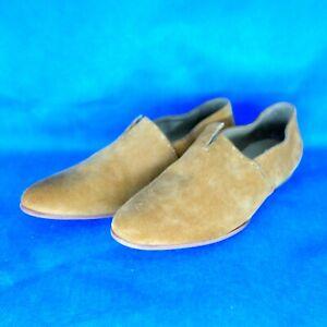 Henry Buguelin Damen Schuhe Loafer Slipper Braun Wildleder Gr 37,5 Np 270 Neu