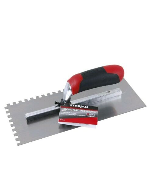 Faithfull Soft-grip Edging Trowel 6in x 3in