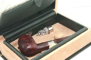DUNHILL-CHRISTMAS-PIPE-N-445-OF-500-LIMITED-EDITION-1998-NEW-AND-UNSMOKED