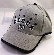 MECCA 13 Gray & Blue 5 Star Adjustable Baseball Cap Caps Hat Hats New