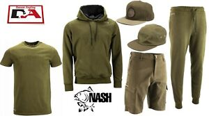 Nash Emboss Tracksuit Top /& Bottoms Carp Fishing Clothing