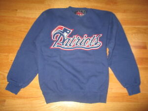 purchase cheap f7659 4ab6d Details about Vintage Galt Sand NEW ENGLAND PATRIOTS Embroidered (LG)  Sweatshirt