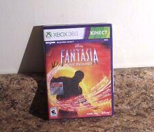 Disney Fantasia Music Evolved XBOX 360 Game for Kinect SEALED NEW