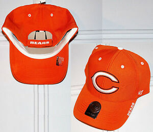 672b8561f Men s  47 Brand NFL Chicago Bears Condenser Audible MVP Adjustable ...