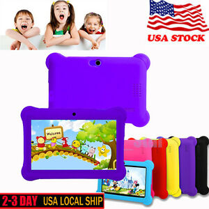 Kids-Tablet-7-Android4-4-Case-Bundle-Dual-Camera-1-2Ghz-Wi-Fi-Bonus-Items-Unique