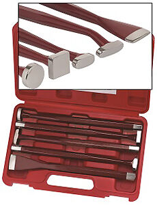 S & G Tool Aid 89360 5 Piece Body Forming Punch Set Brand New!