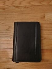 Franklin Covey 365 Black Compact Zip Binder Excellent Condition