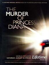 THE MURDER OF PRINCESS DIANA Movie POSTER 27x40