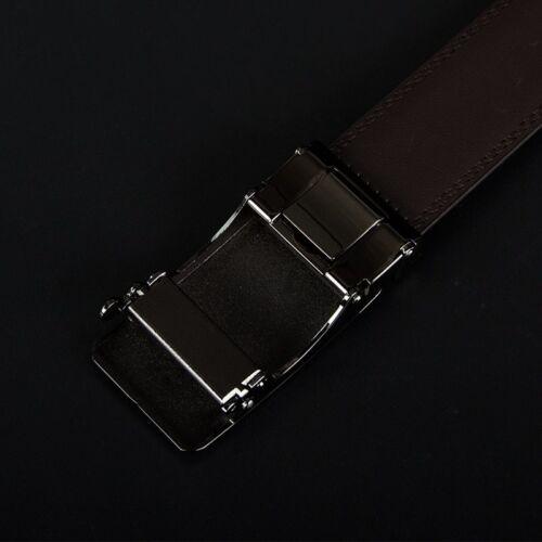 CINTURONES DE CUERO Genuino para Hombre Cinturón Correas de Lujo Leather Belt