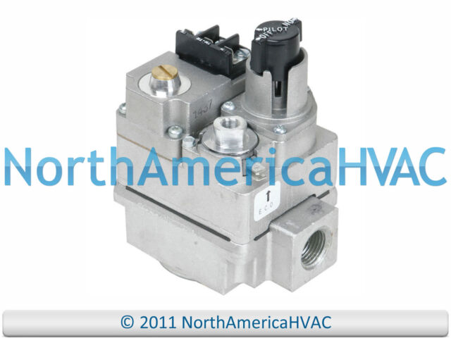 York Luxaire Coleman Wr Furnace Gas Valve S1 Manual Guide