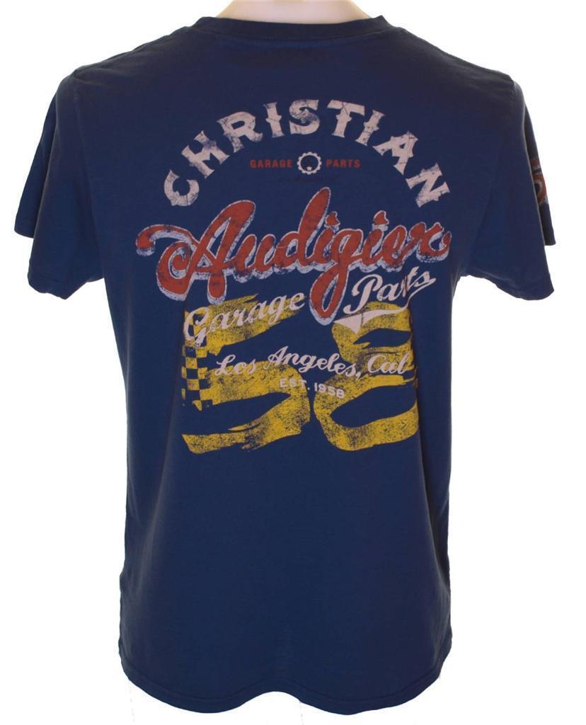 neuf HOMME avec étiquettes AUTHENTIQUE HOMME neuf CHRISTIAN AUDIGIER complet course t shirt a4a2ca