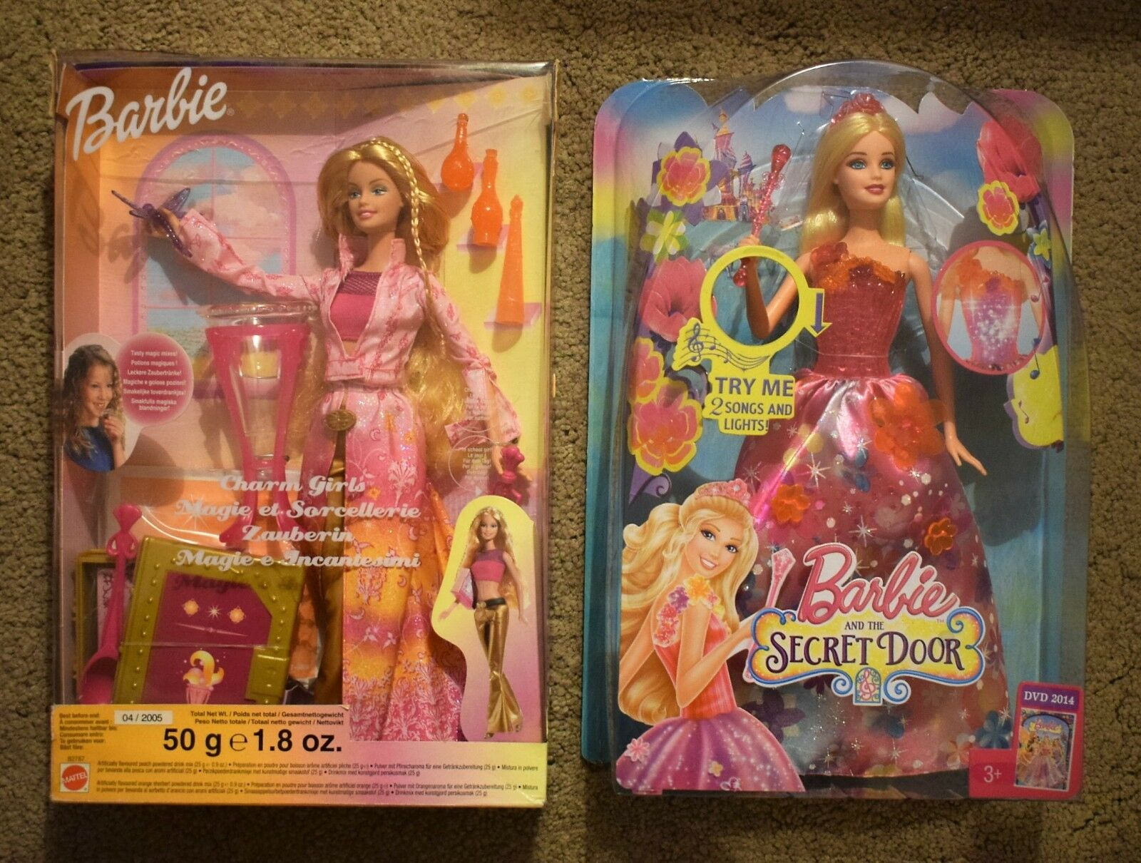Barbie e The Secret  Porta Si Accendono Bambola oppure Ciondolo Girl Set Bambina  acquisto limitato