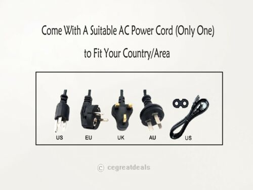 NEW AC Adapter For URC MRX-10 Advanced Network System Controller DC Power Supply