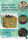 Stencil Girl - Mixed Media Sampler Journal by Mary Beth Shaw (DVD video, 2013)