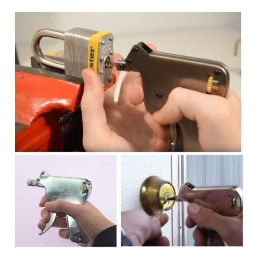Strong Steel Extractor Training Open Repair Door Opener Bumps Key Tool Set UK