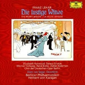 La-vedova-divertente-ga-di-Herbert-Karajan-2-CD-NUOVO
