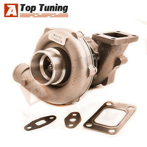 Turbo-T3T4-T04E-T3-Compressor-A-R-50-Turbine-A-R-63-Oil-Cooled-5-bolt-Flange