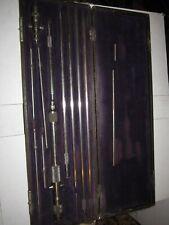 Vintage Ls Starrett Inside Micrometer Set With Case 2 32 Solid Rod