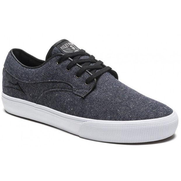detailed look aa43c 78dc3 LAKAI Riley Hawk Hawk Hawk Midnight Textile vegan chaussures de skate neuf  Skateboard Baskets UK10 818f6d