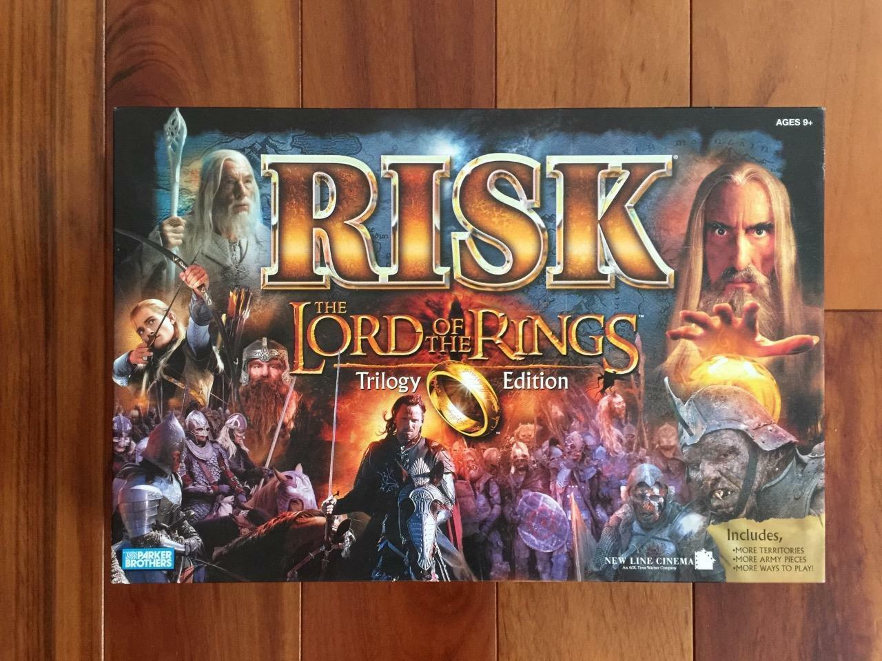 Risk Lord of the Trilogy Rings Trilogy the Edition 2003 Game  EXCELLENT CONDITION 61a76e
