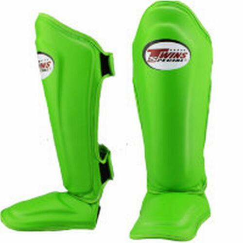 Twins Special SGL-10 Solid Color MUAY THAI KICK BOXING MMA SHIN PADS GUARDS