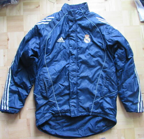 REAL MADRID winter ZIP jacket ADIDAS 20052006 Galacticos adult SIZE M