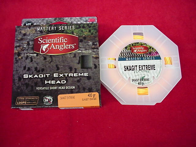 Scientific Anglers Fly Line Skagit Extreme Head 440 Gr 22Ft GREAT NEW