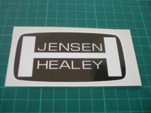 100mm Classic restoration JENSEN HEALEY sticker