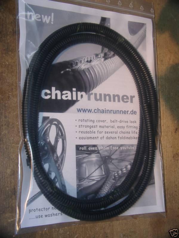 CHAINRUNNER chaincover Kettenschutz mitlaufend Chainglider ersatz ALFINE ROHLOFF