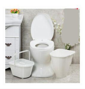 Details about D18 Outdoor Indoor Portable Toilet Pedestal Pan Camping RV  Caravan Parts M