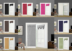Image Is Loading 1PC ELEGANT ROLL UP LINED BLACKOUT WINDOW CURTAIN