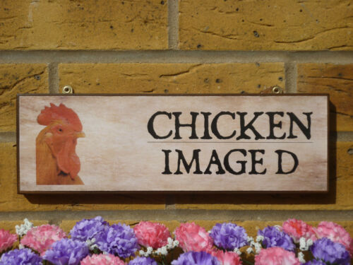 PERSONALISED FREE RANGE CHICKENS SIGN OWN NAME SIGN GARDEN SIGN CHICKEN COOP EGG