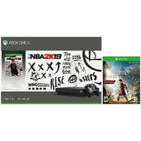 Deals on Xbox One X 1TB Console w/NBA 2K19 + Assassins Creed Odyssey