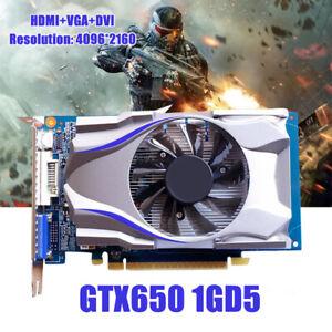 GTX650-1GB-128BIT-HDMI-DVI-VGA-Juego-Tarjeta-Grafica-de-Video-para-juegos-de-PC-NVIDIA-caliente